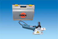 GEKA Milling Machine for Gutter Brackets mains-operated