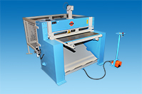 GEKA Pneumatic Guillotine Shear DTE 100 with cutting edge laser
